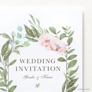 結婚式 招待状 Frais イメージ