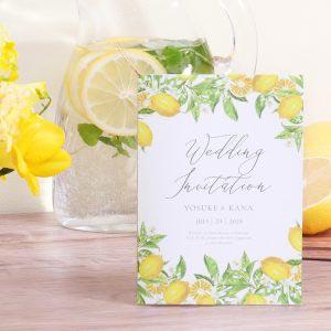 結婚式 招待状 Lemon イメージ