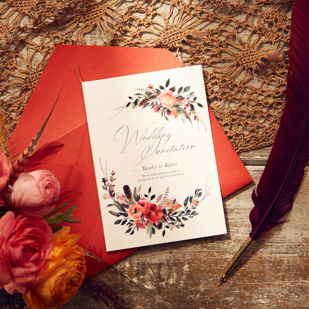 結婚式 招待状 Corolla 1