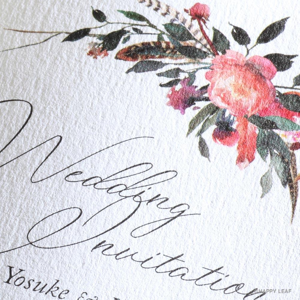 結婚式 招待状 Corolla 3