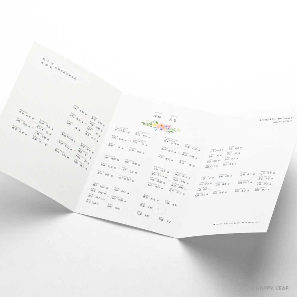 席次表 caro -photo- 12