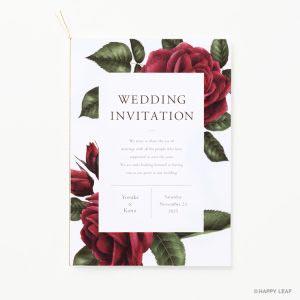 結婚式 招待状 Diletto