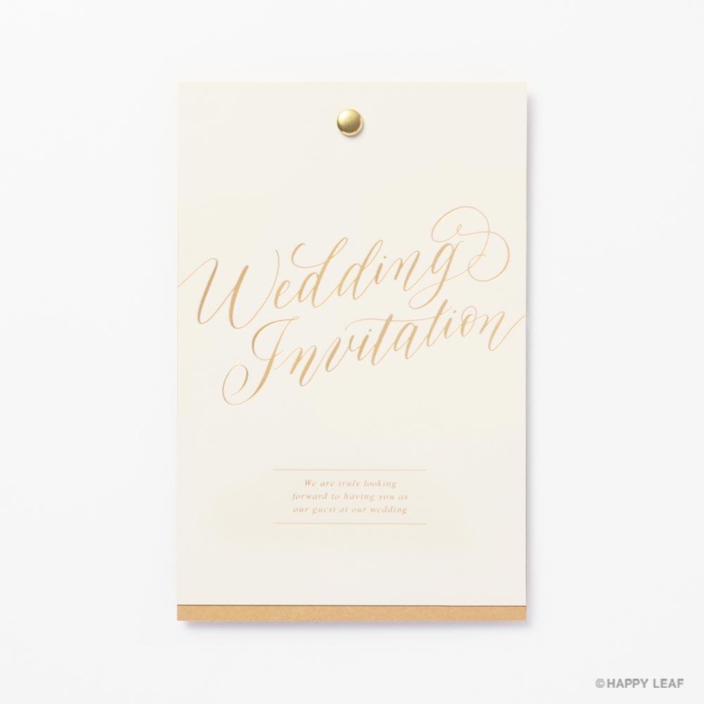 結婚式 招待状 Jouer minimal 2