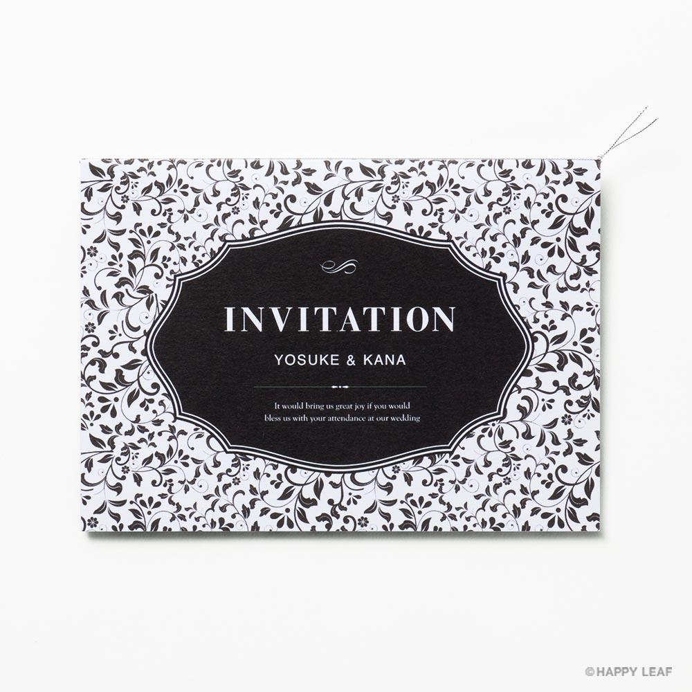 結婚式 招待状 rocher 1