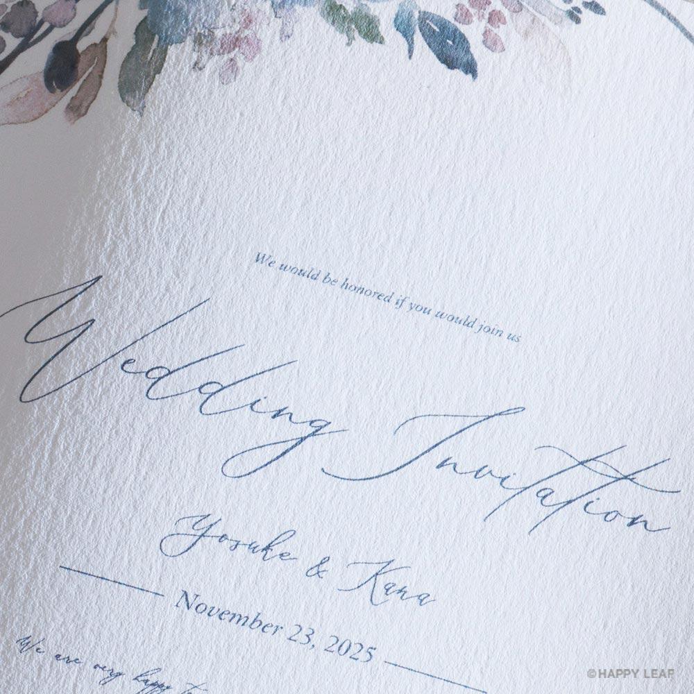 結婚式 招待状 Grato 3