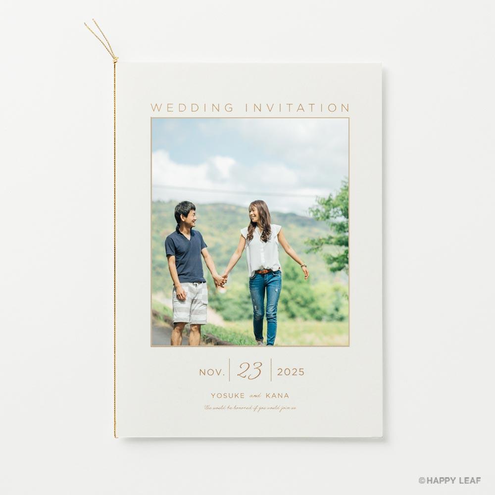 結婚式 招待状 DAYS 5