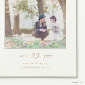 結婚式 招待状 DAYS イメージ