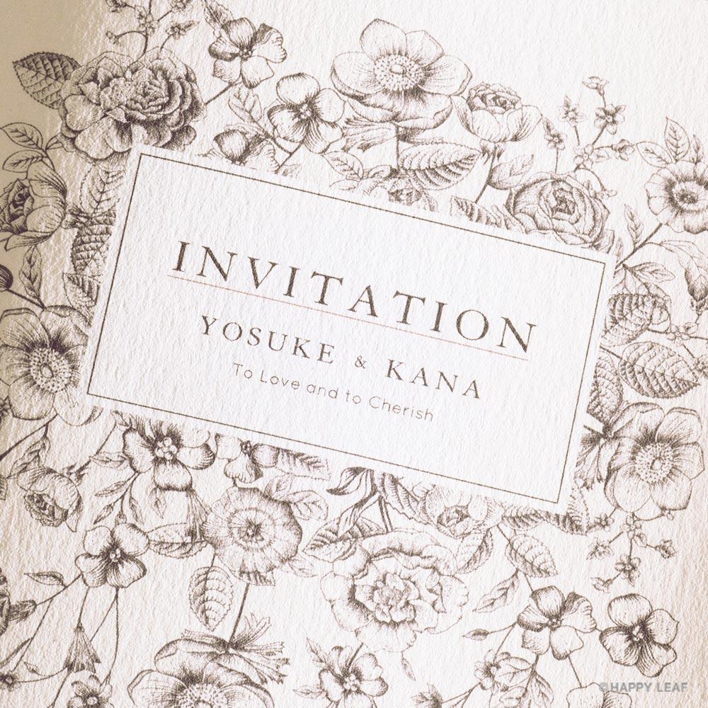 結婚式 招待状 Liana 2