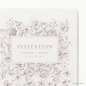 結婚式 招待状 Liana イメージ