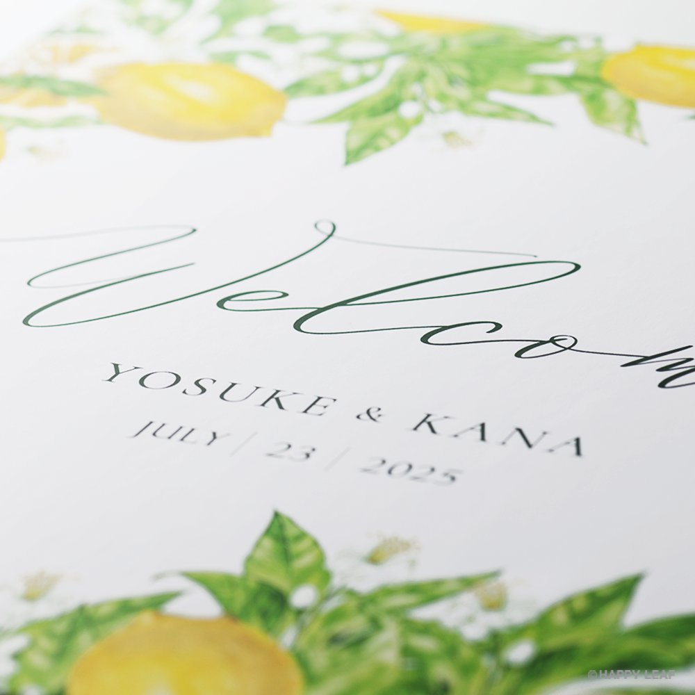 ウェルカムボード Lemon 2