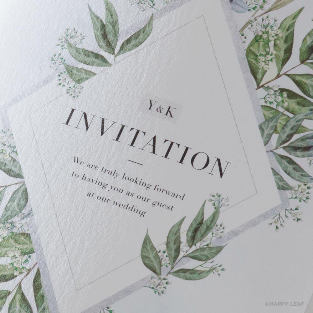 結婚式 招待状 fresca 3