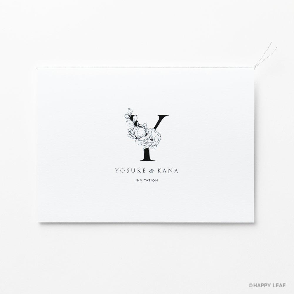 結婚式 招待状 Bonheur スノー 2
