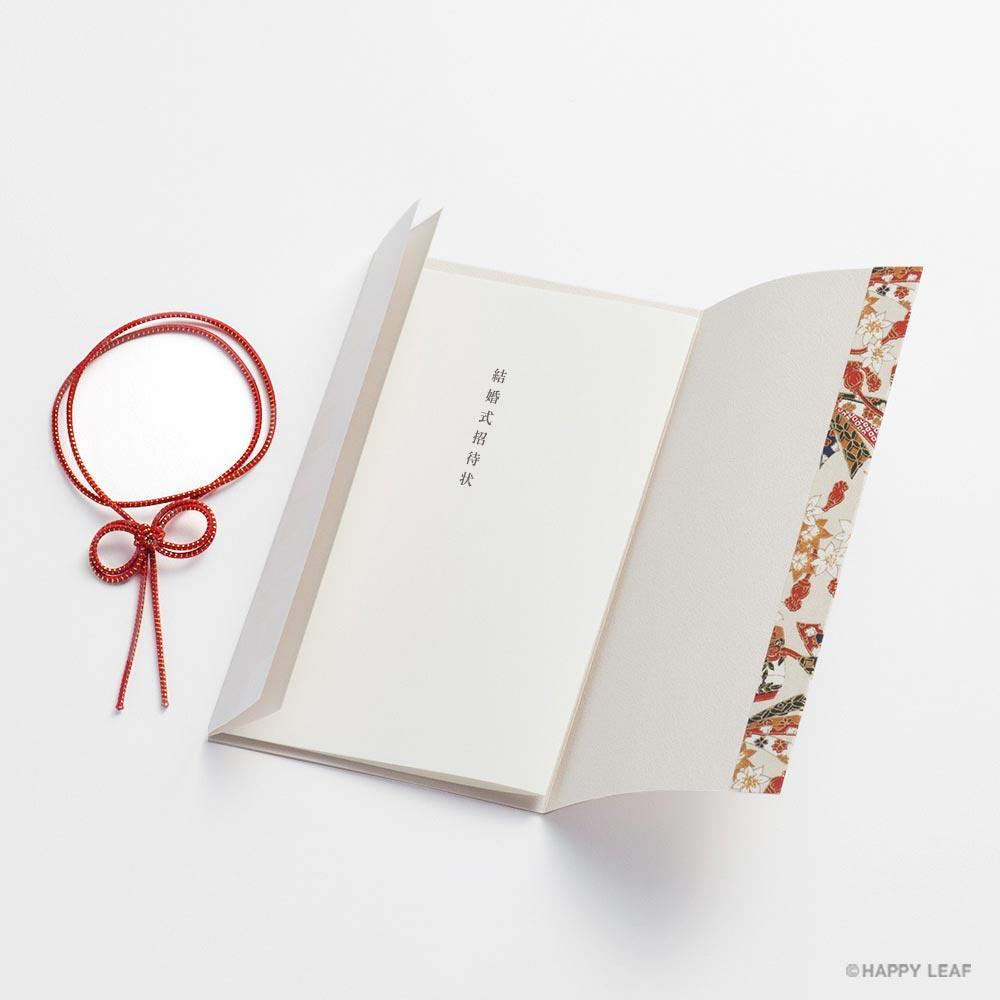 結婚式 招待状 ICHIMATSU – 朱 3