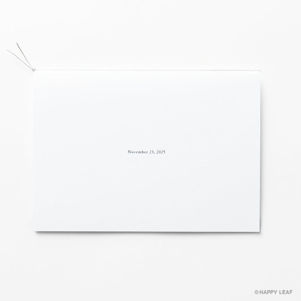 結婚式 招待状 Bonheur スノー 6