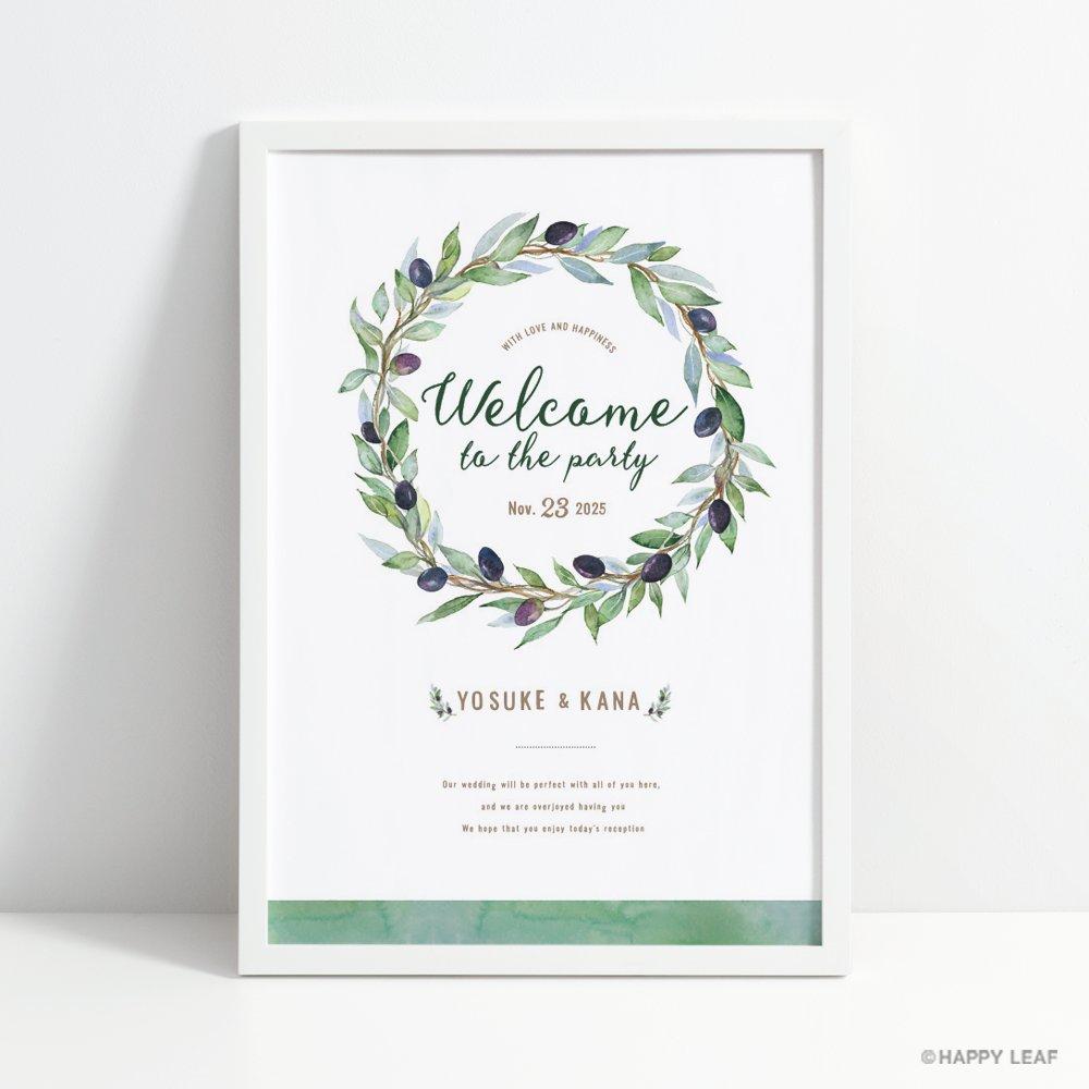 ウェルカムボード Olive 1