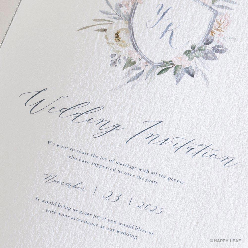 結婚式 招待状 Avan 3