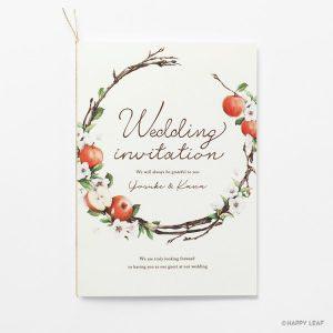 結婚式 招待状 pomme