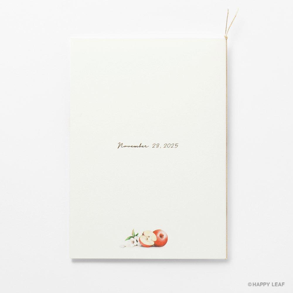 結婚式 招待状 pomme 3