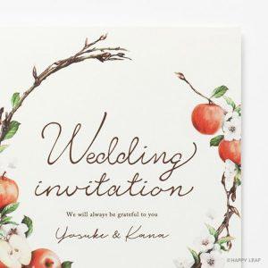 結婚式 招待状 pomme イメージ