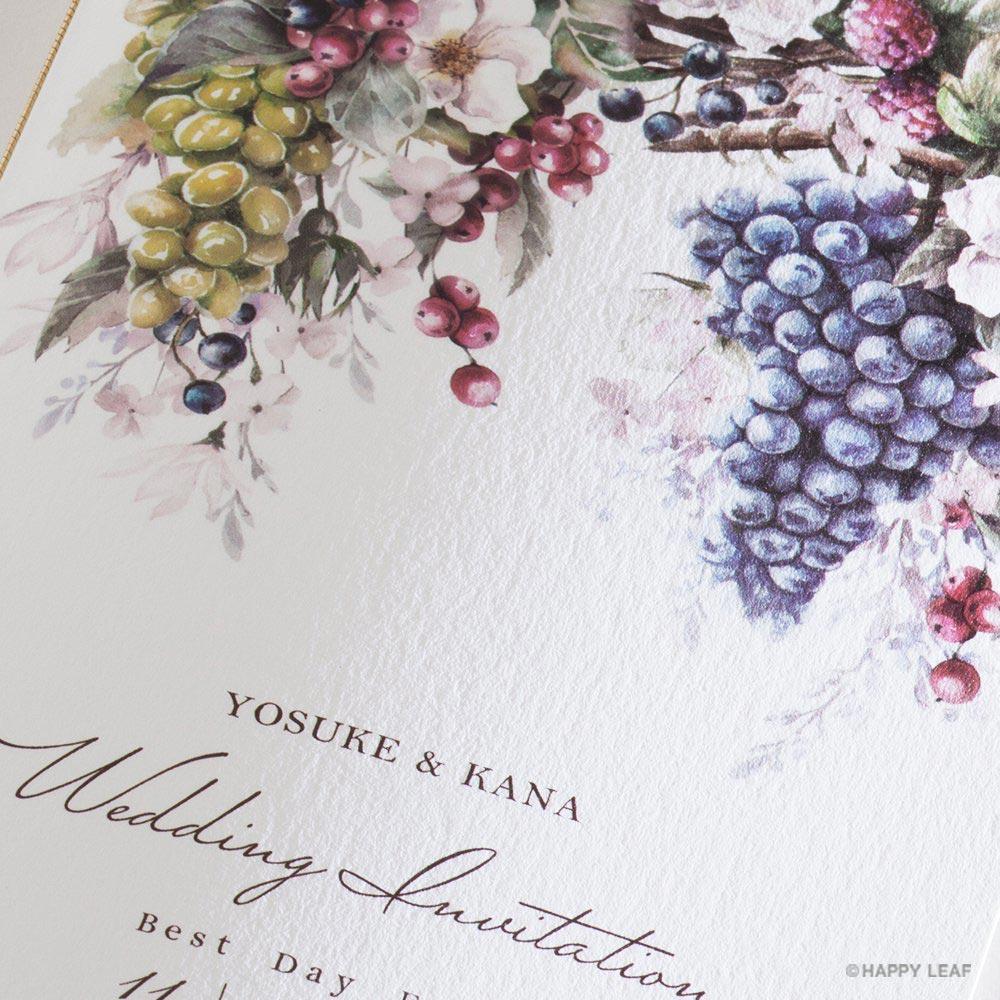 結婚式 招待状 Riche 3