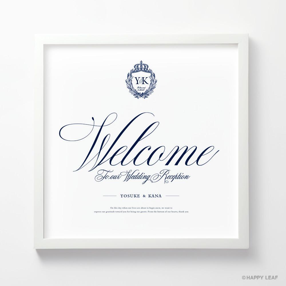 ウェルカムボード Emblem 1