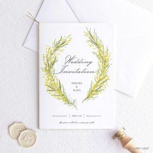 結婚式 招待状 klein