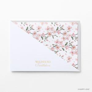 結婚式 招待状 fleurir アイスグレー