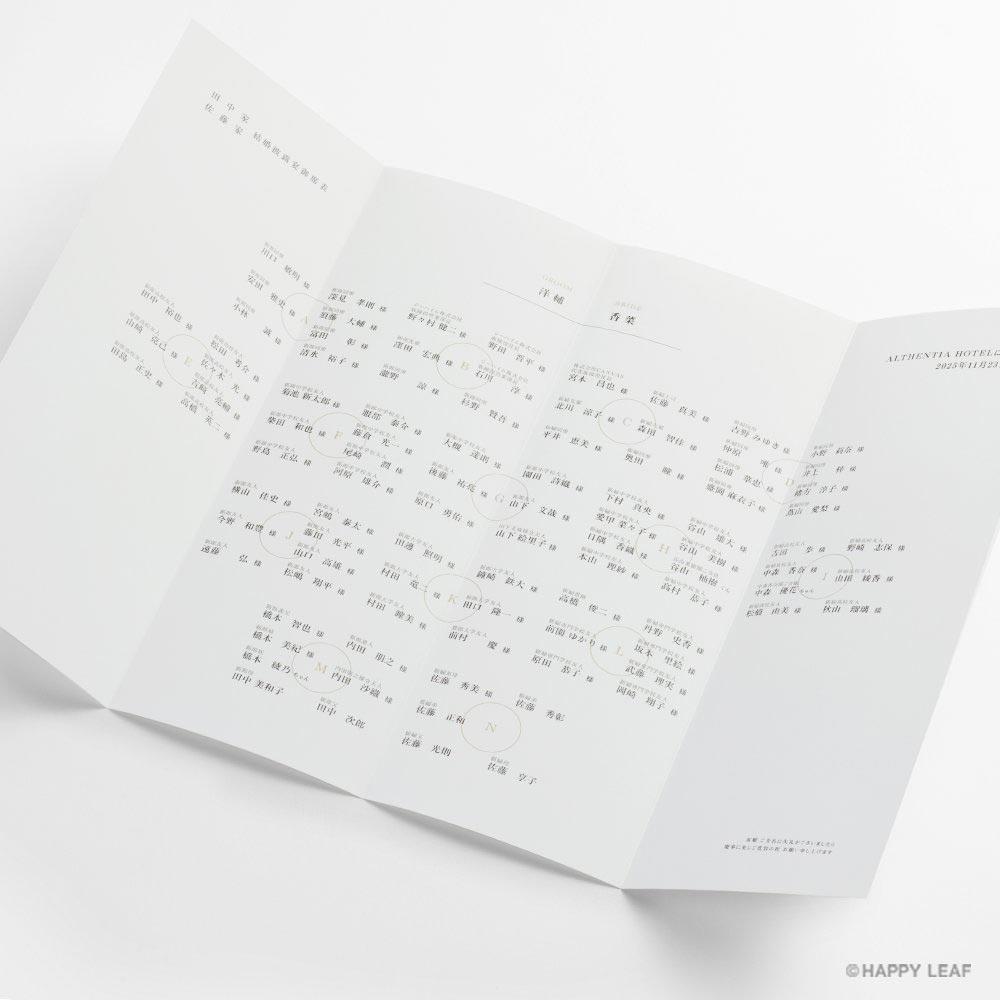 席次表 SUMI 3