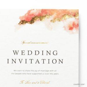 結婚式 招待状 Dew イメージ