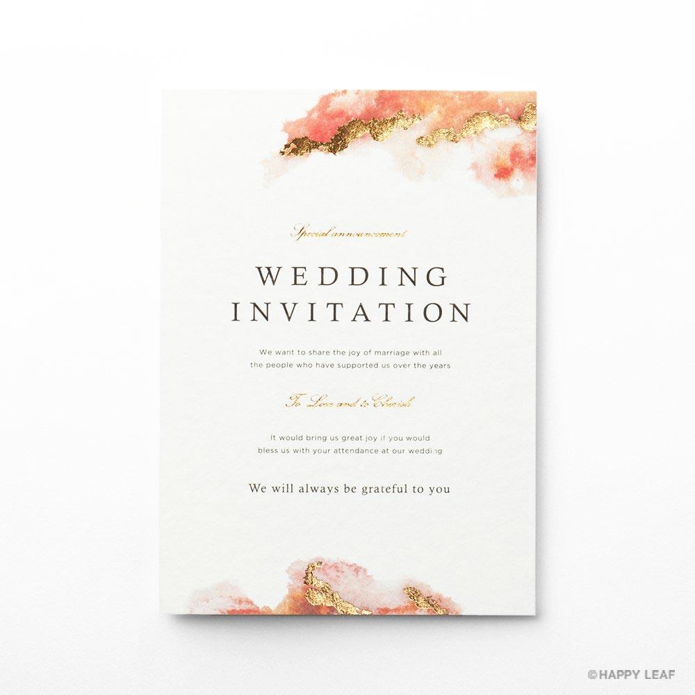 結婚式 招待状 Dew 1