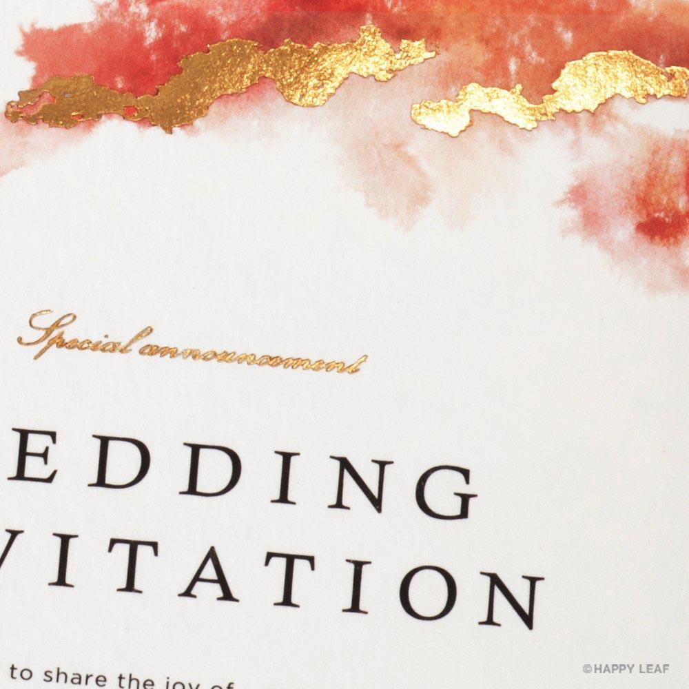 結婚式 招待状 Dew 2