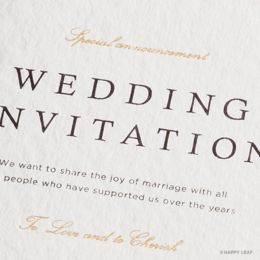 結婚式 招待状 Dew 4