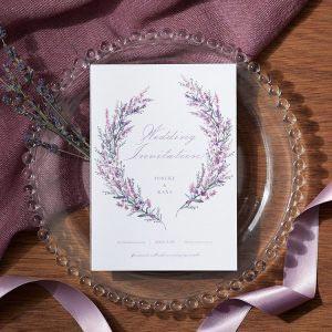 結婚式 招待状 Lavande イメージ
