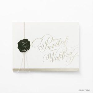 結婚式 招待状 Vino bianco