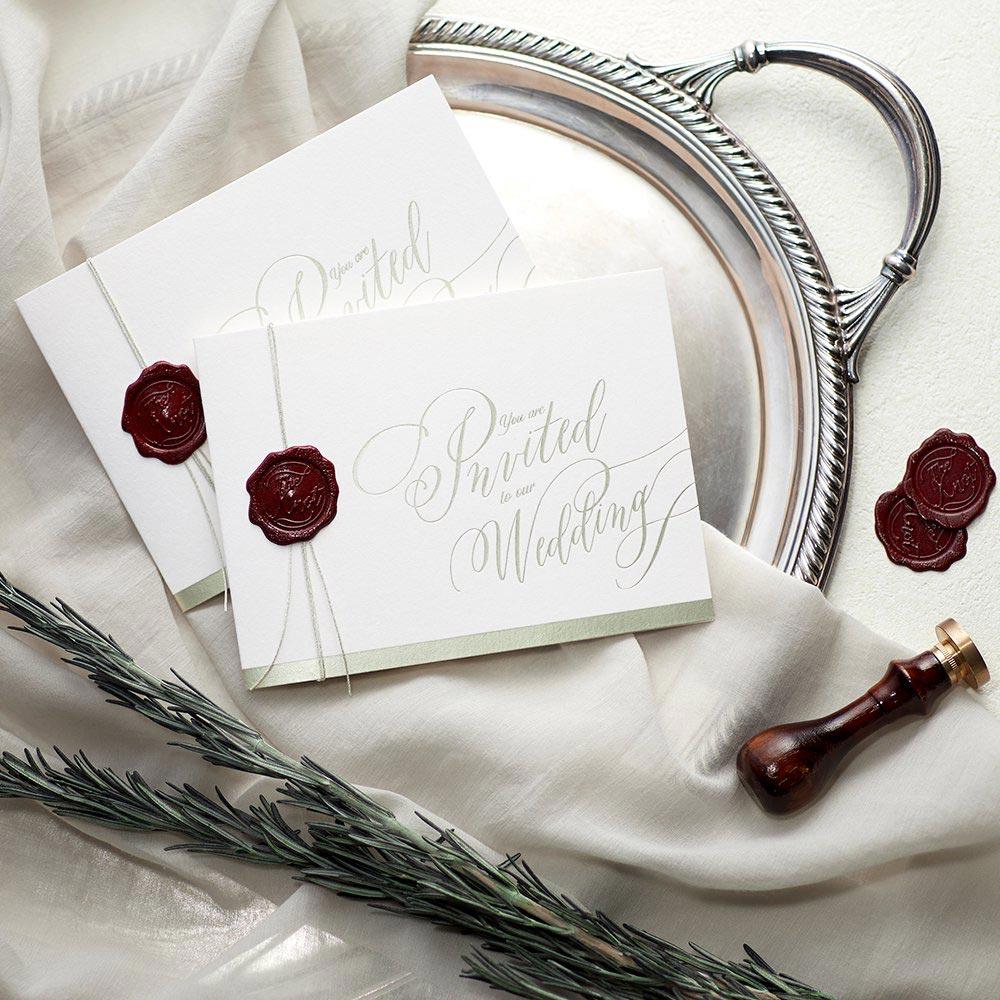 結婚式 招待状 Vino rosso 1