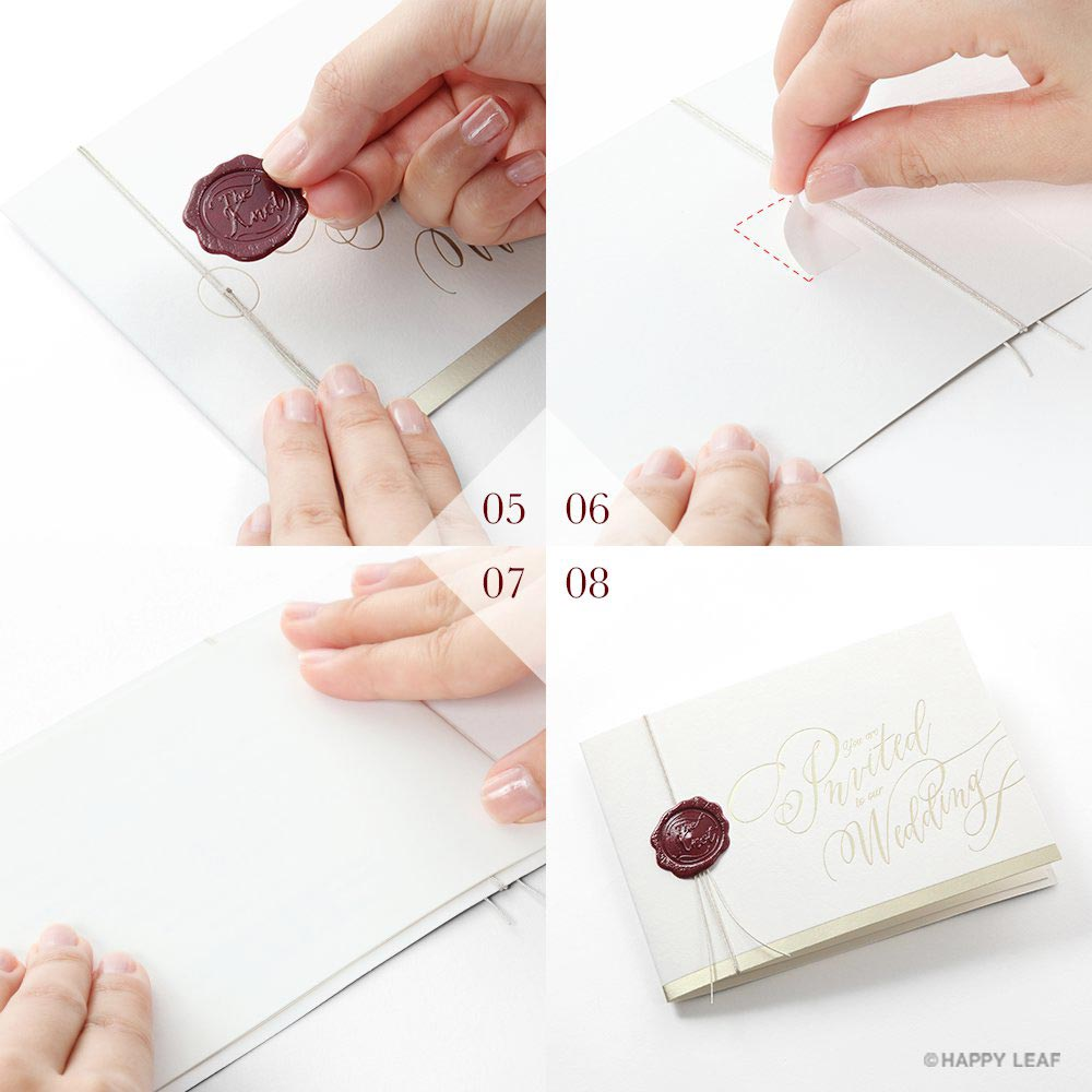 結婚式 招待状 Vino rosso 15