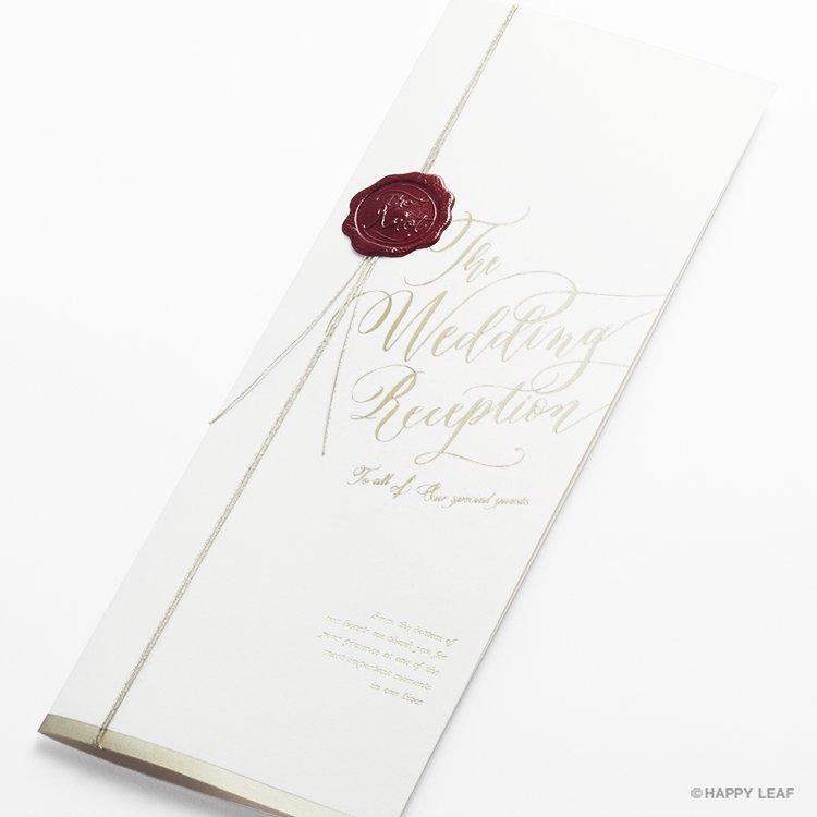 席次表 Vino rosso