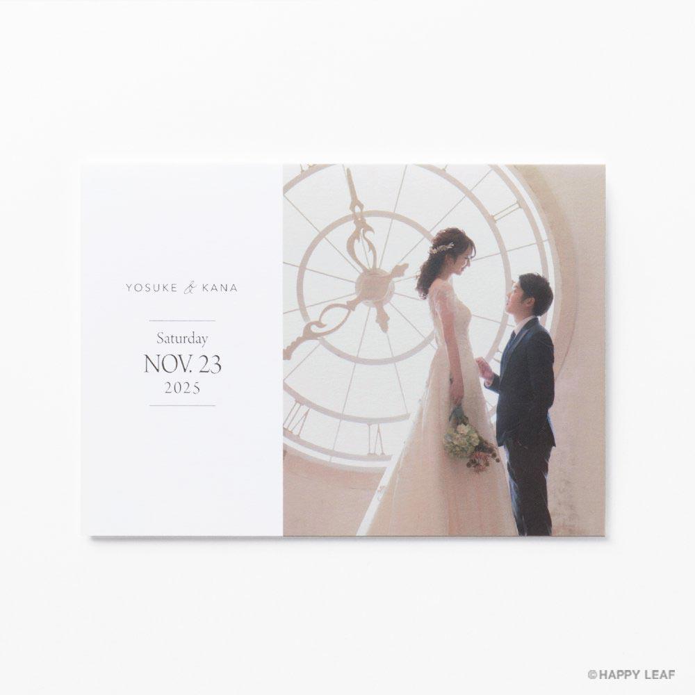 結婚式 招待状 Toujours シルバー 2