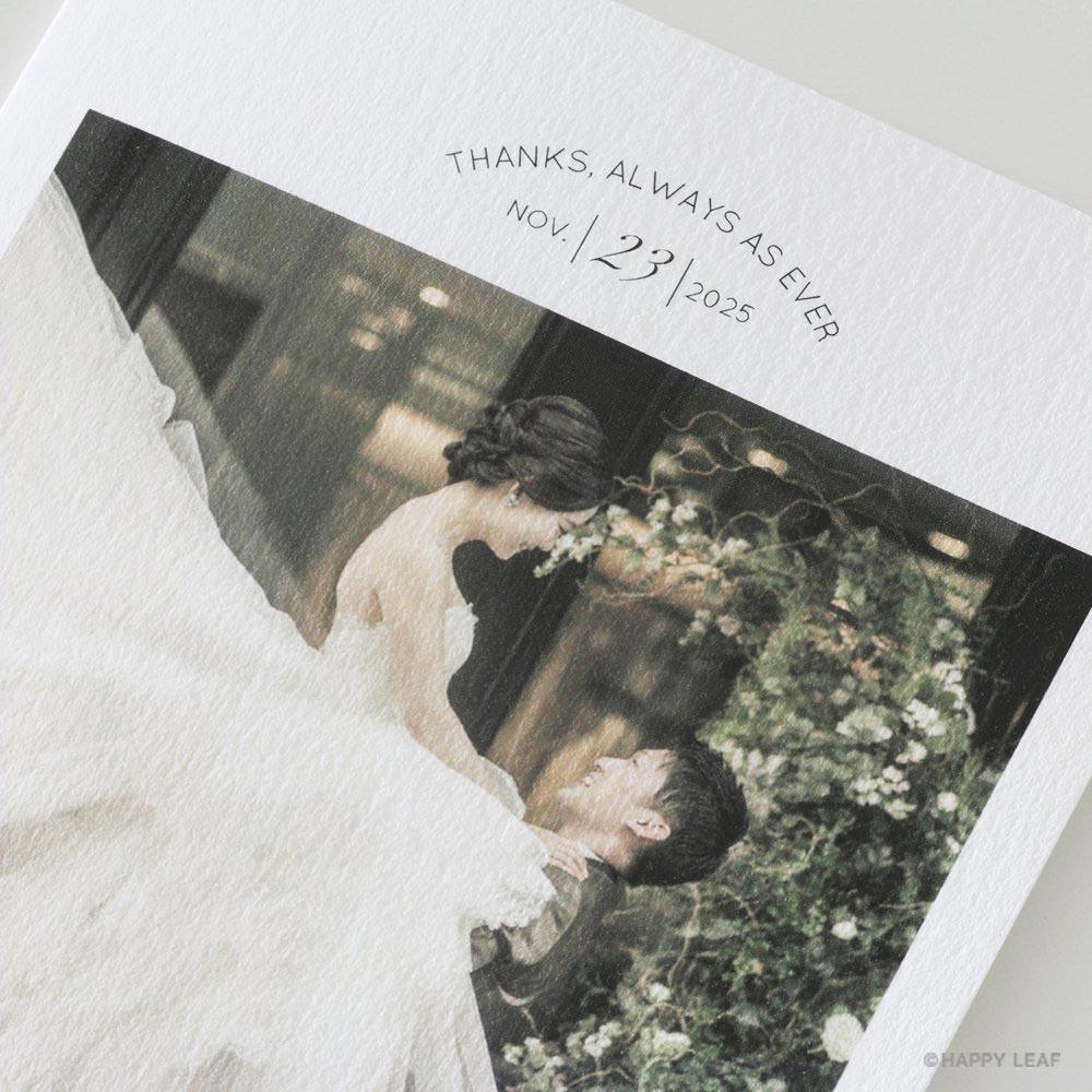 結婚式 招待状 Felice ゴールド 4