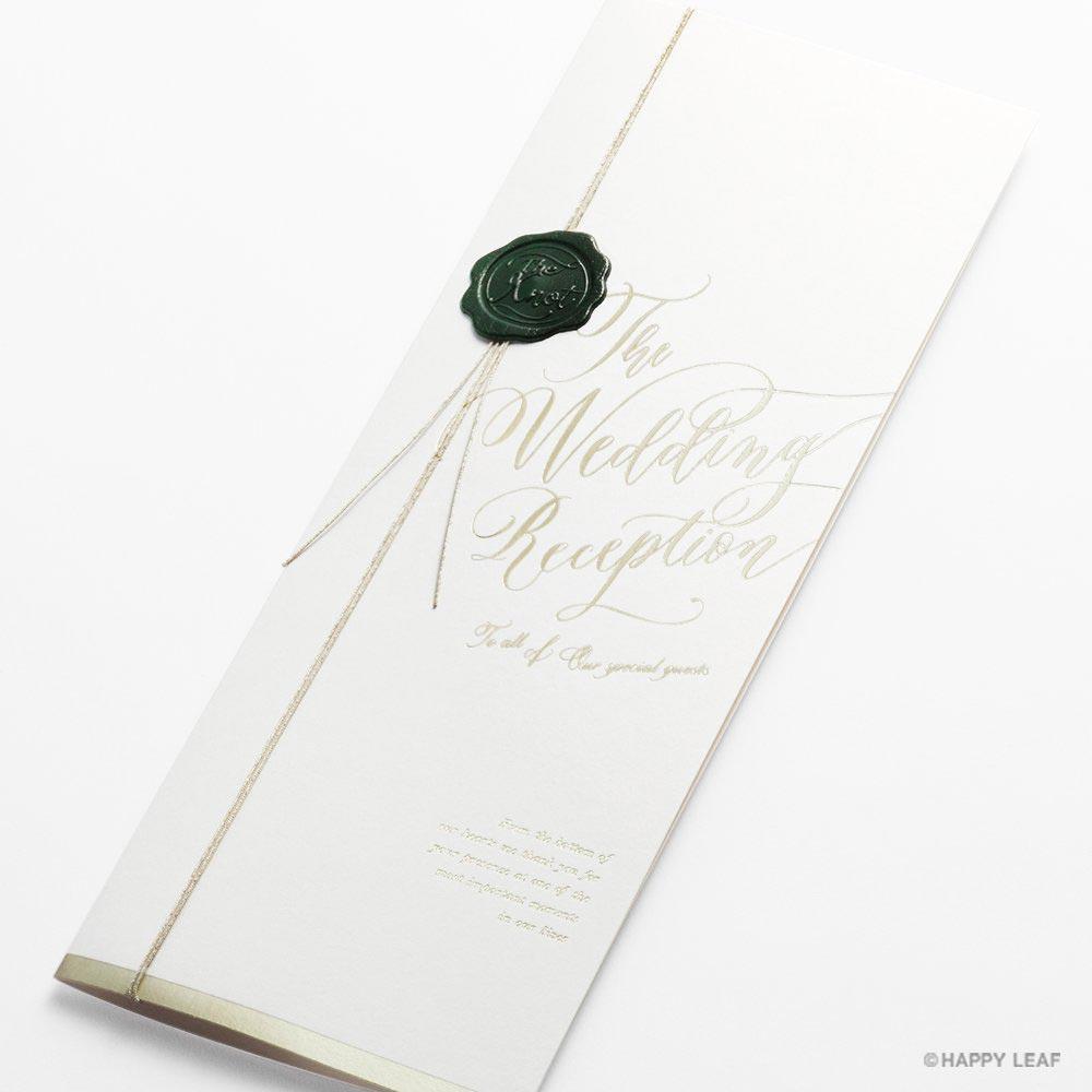 席次表 Vino bianco 1