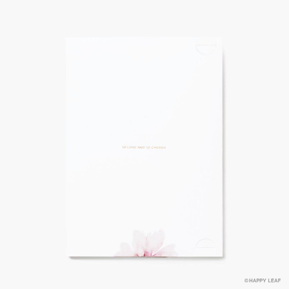 結婚式 招待状 bloom 3