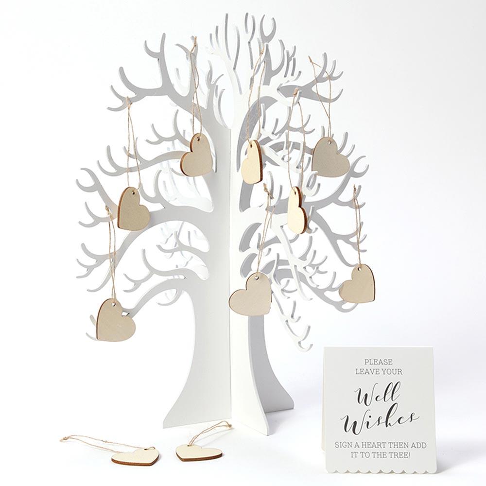 ジンジャーレイ ゲストブック<br>Wooden Wishing Tree
