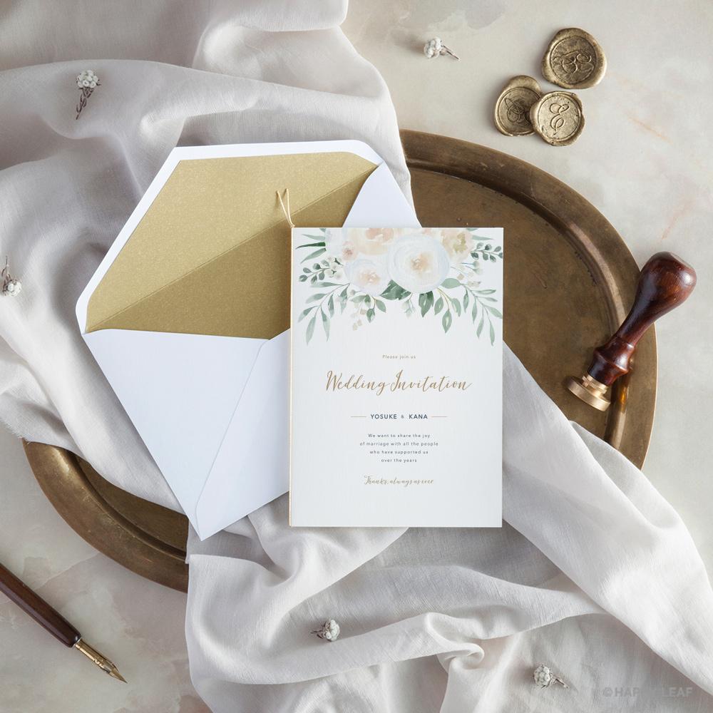 結婚式 招待状 Blanc 10