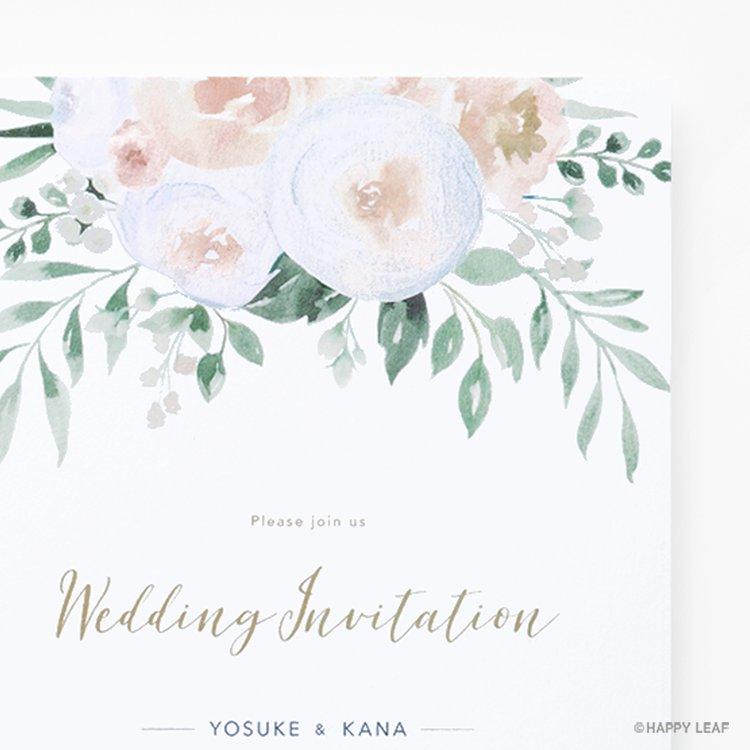 結婚式 招待状 Blanc イメージ