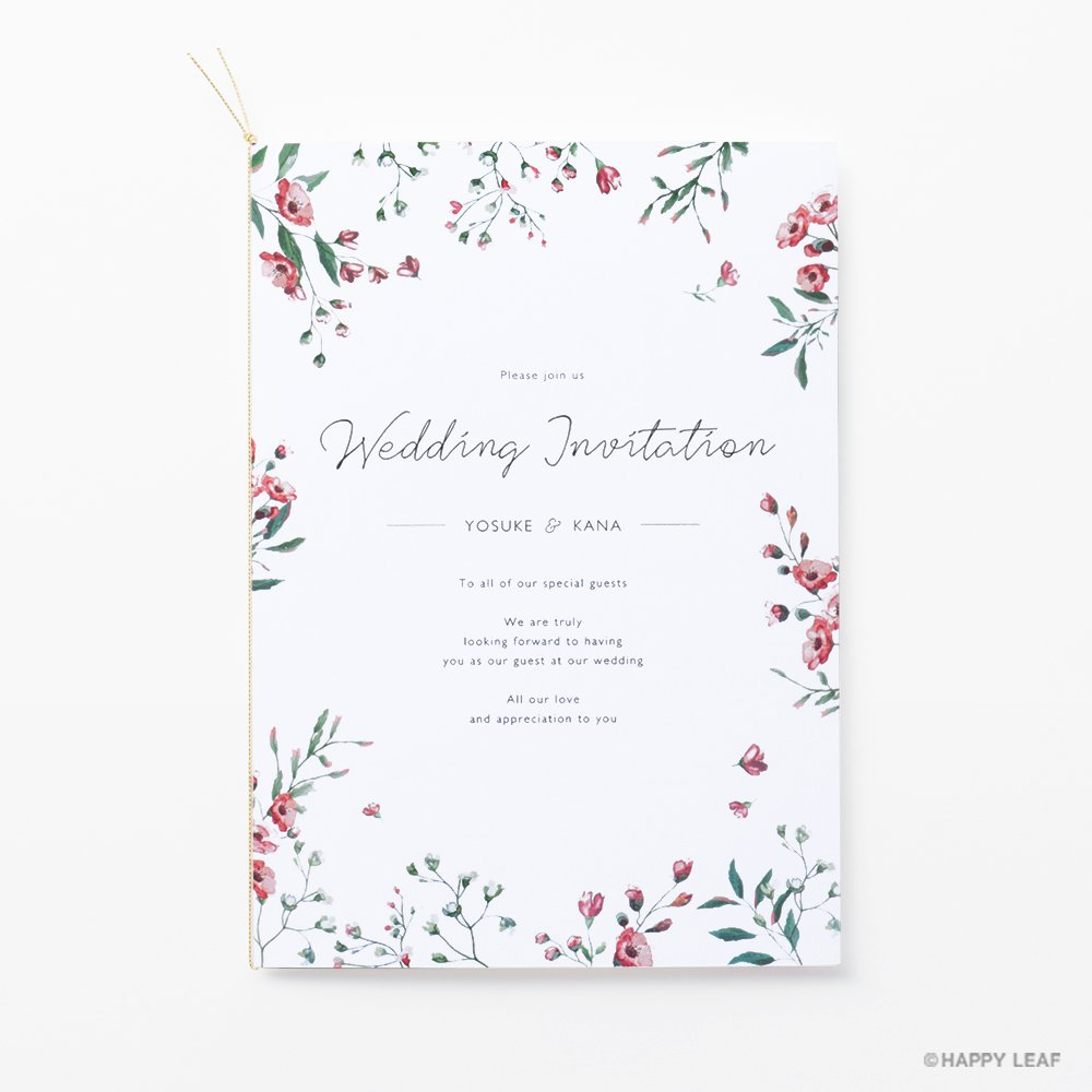 結婚式 招待状 Fiaba 1