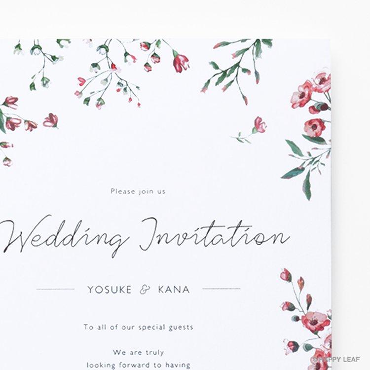 結婚式 招待状 Fiaba イメージ