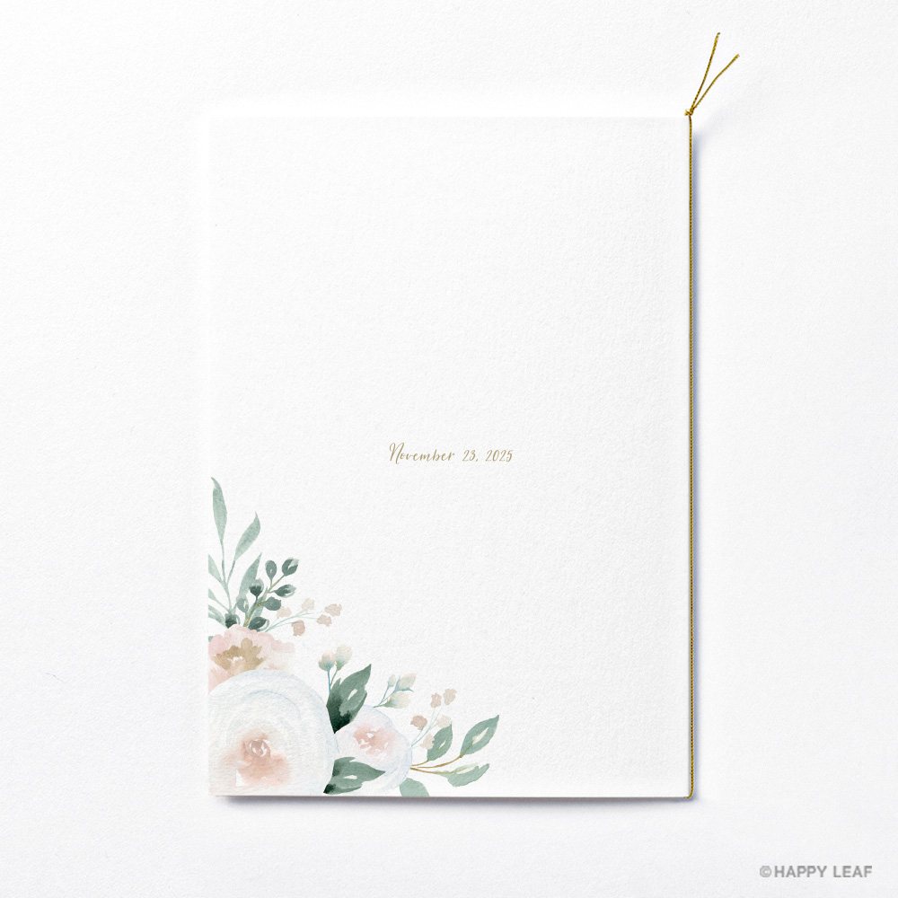 結婚式 招待状 Blanc 3