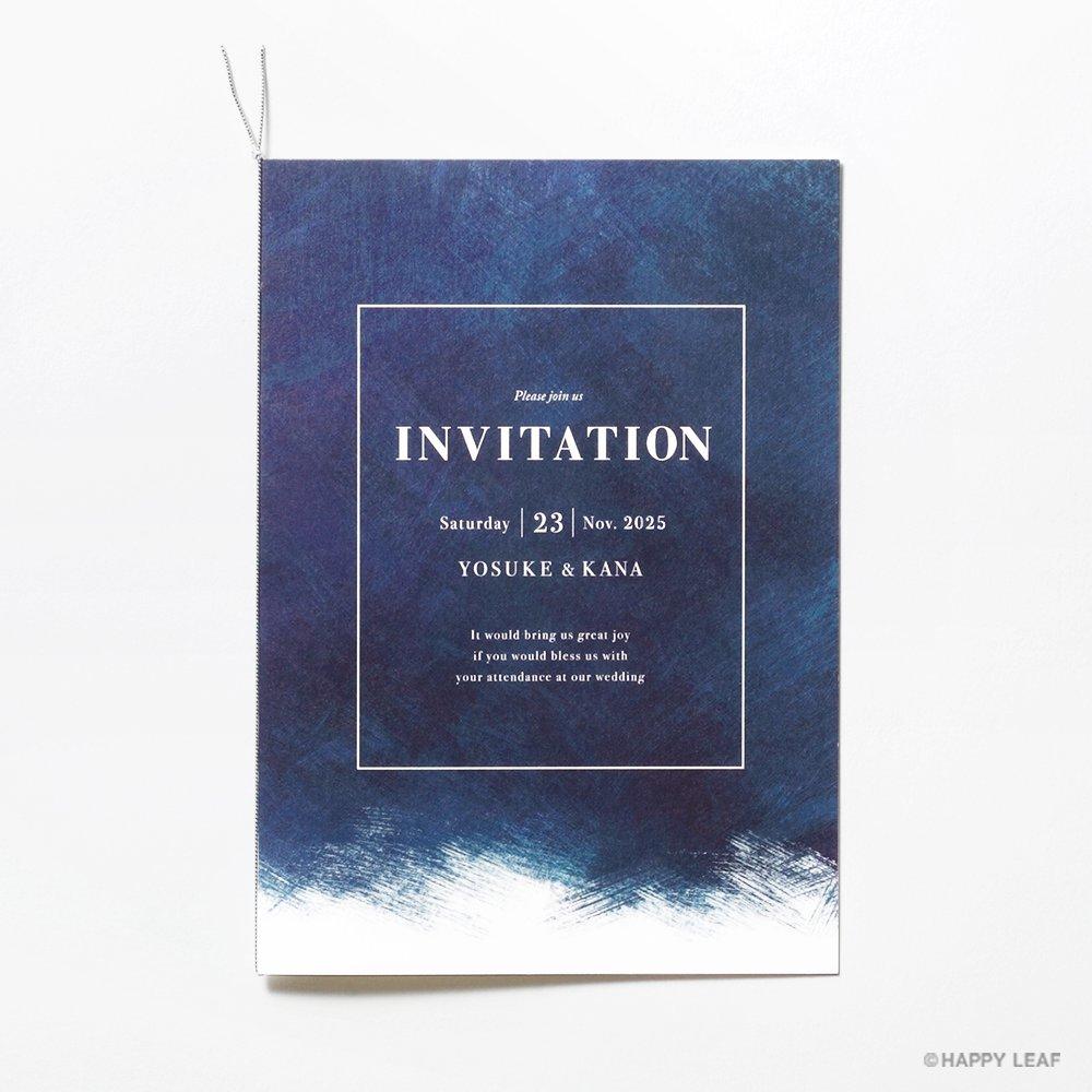 結婚式 招待状 Abyss 2