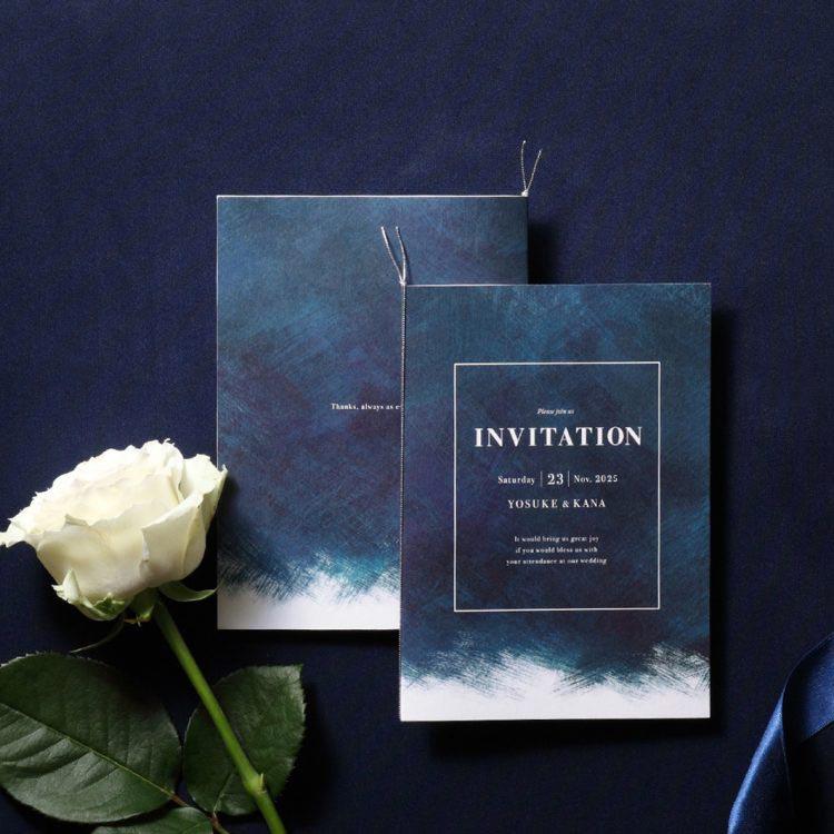結婚式 招待状 Abyss イメージ