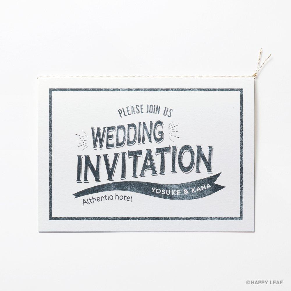 結婚式 招待状 PHOTOPROPS 2